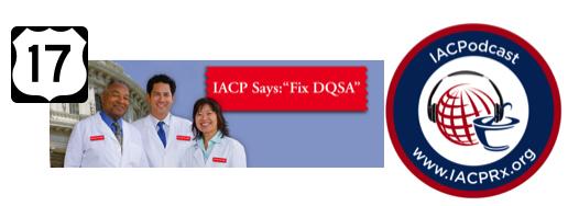 IACP Podcast 17 DQSA Updates Pharmacy Podcast Episode 247