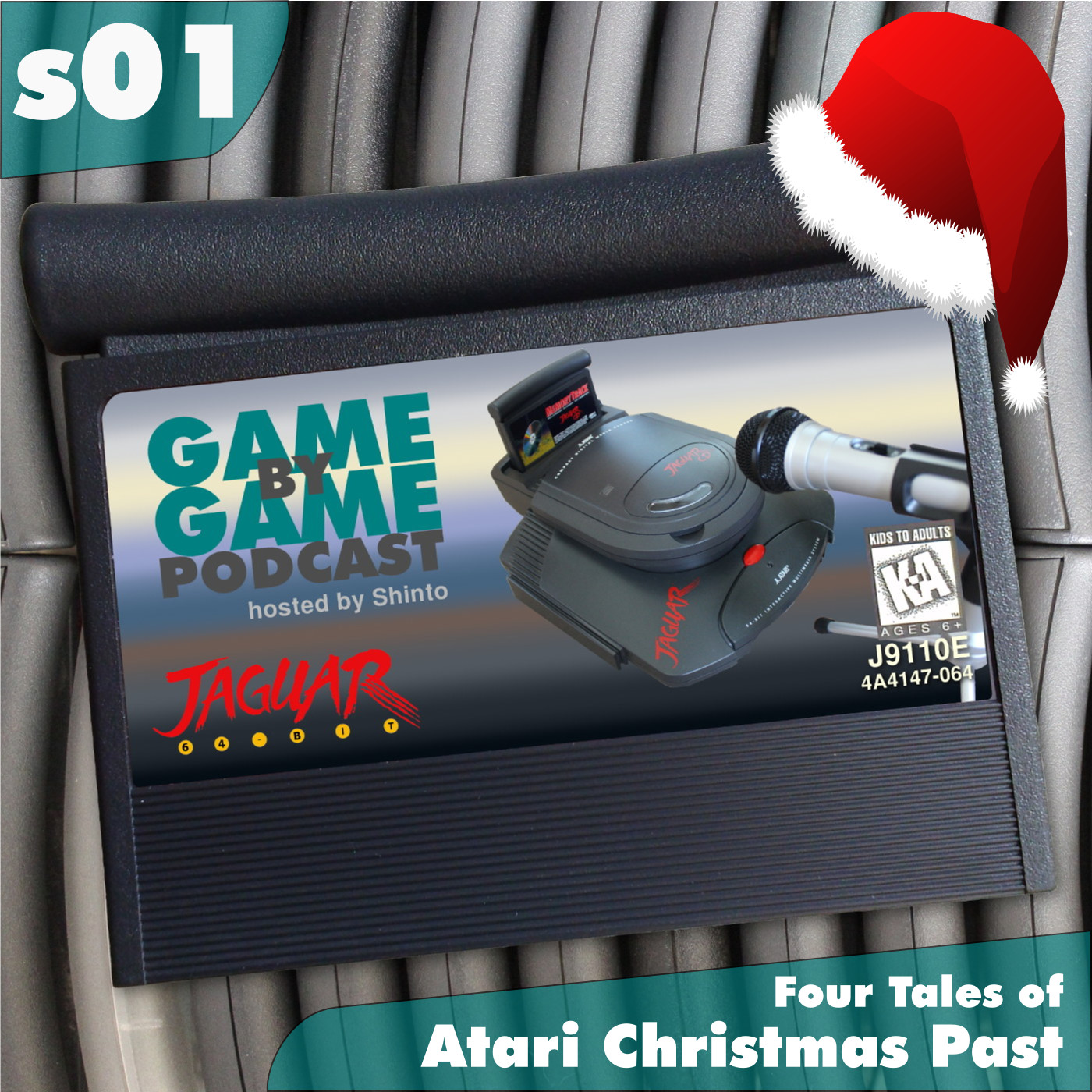 Artwork for s01 - Four Tales of Atari Christmas Past