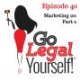 Artwork for Ep. 40 Marketing 101 Part 2