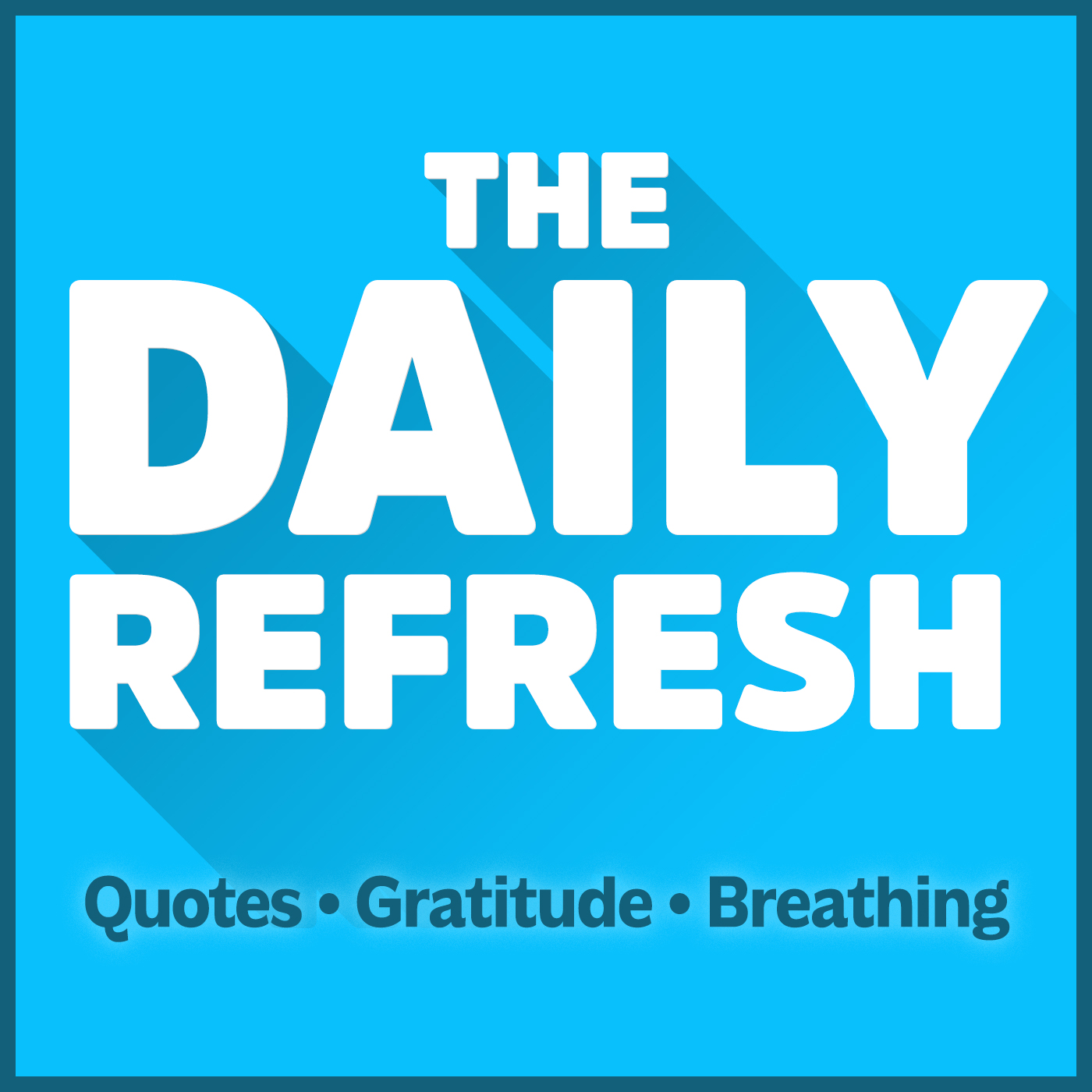 The Daily Refresh with John Lee Dumas show art