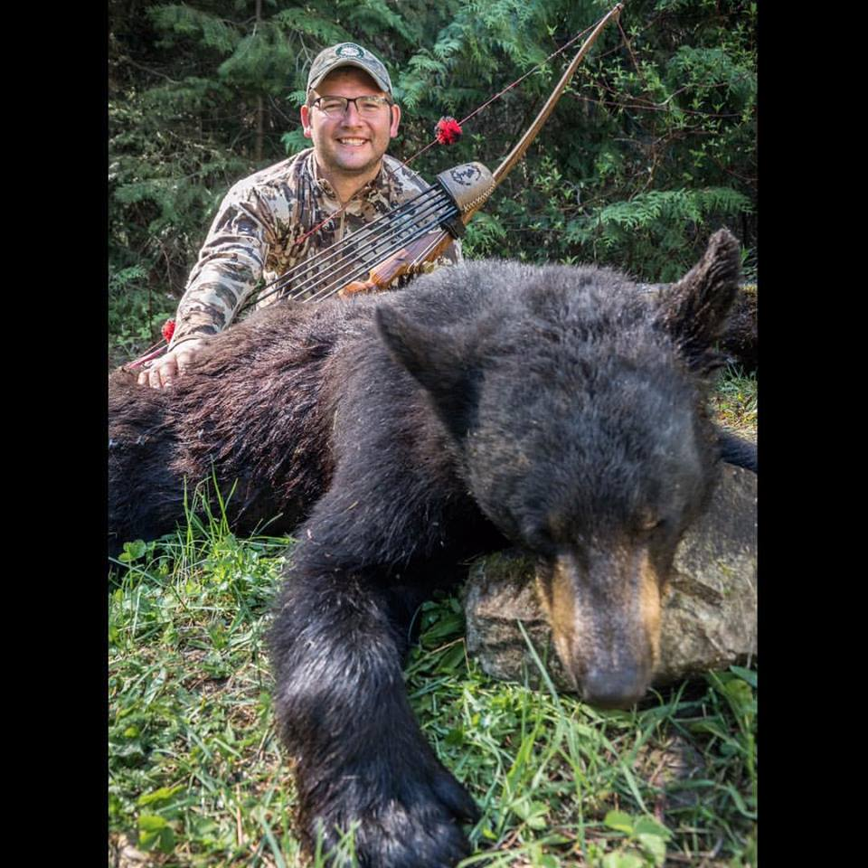 Harmons Idaho Traditional Bowhunting bear
