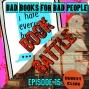 Artwork for Episode 15: Book Battle - Nerd Nostalgia vs. Post-Millennial Angst