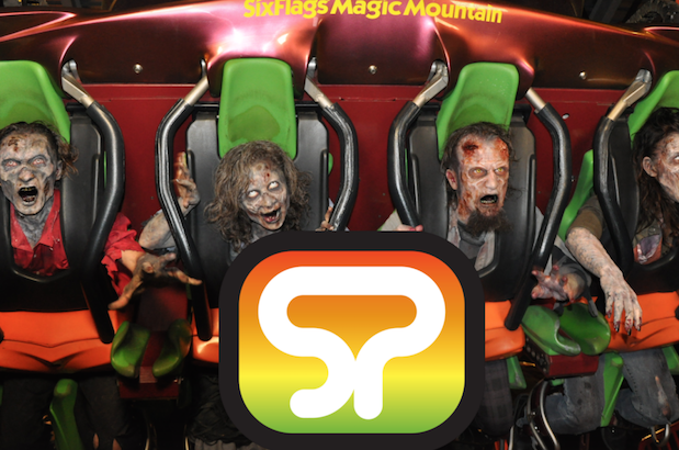 tspp #312- Fright Fest at Six Flags Magic Mountain w/ Scott Ramp & Mark Wing! 10/24/15