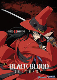 Anime DVD Review: Black Blood Brothers Volume 2