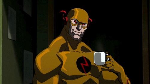 Crimson Comet #11 Justice League: The Flashpoint Paradox