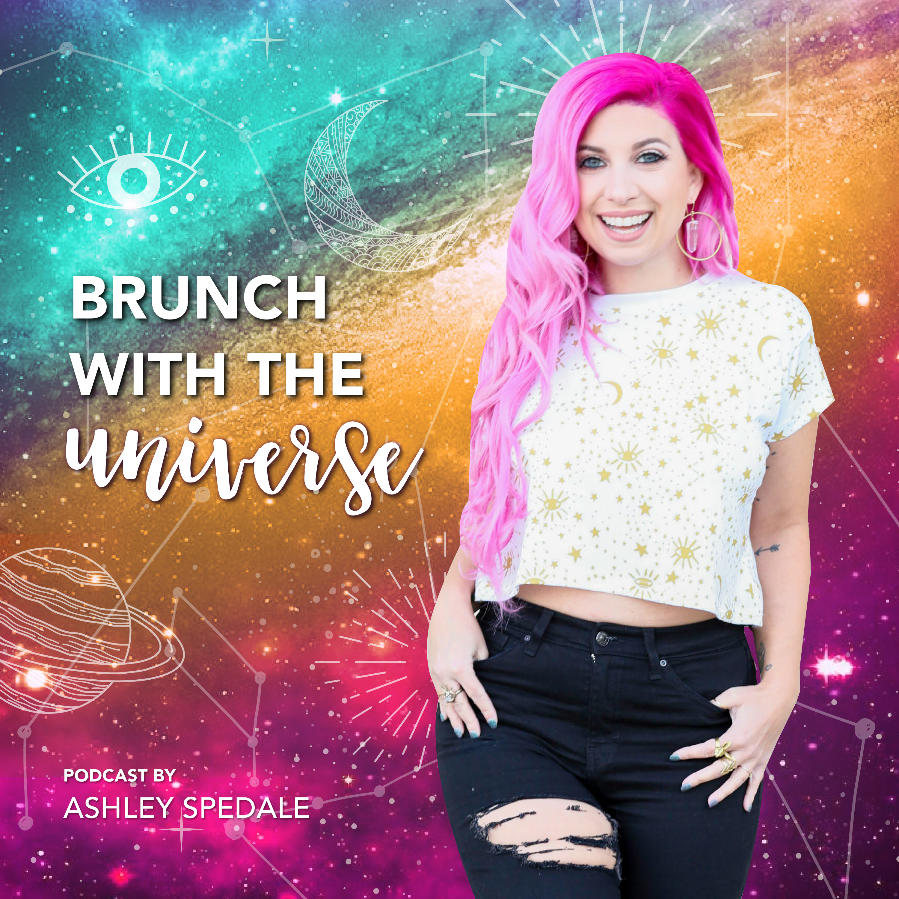 Brunch with the Universe show art