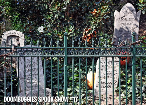 DoomBuggies Spook Show Episode 17: Foolish Mortals Documentary, Ghost Post ride-through