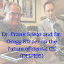 Artwork for Dr. Frank Spear and Dr. Gregg Kinzer on the future of dental CE (DHP195)