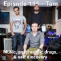 Artwork for Episode 116 - Tam - Music, psychedelic drugs, & self discovery