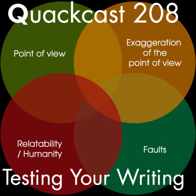 Episode 208 - Testing Your Writing