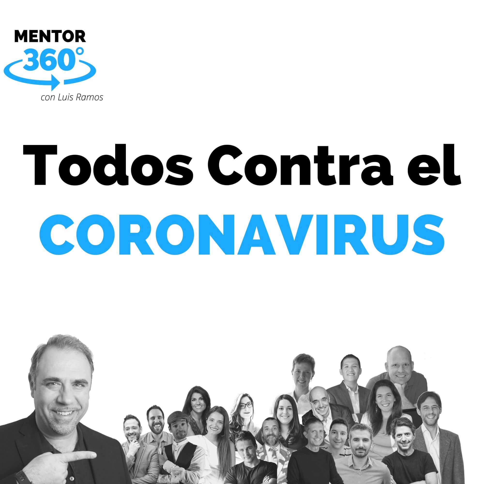 TODOS Contra el Coronavirus - Un programa de Libros para Emprendedores y MENTOR360