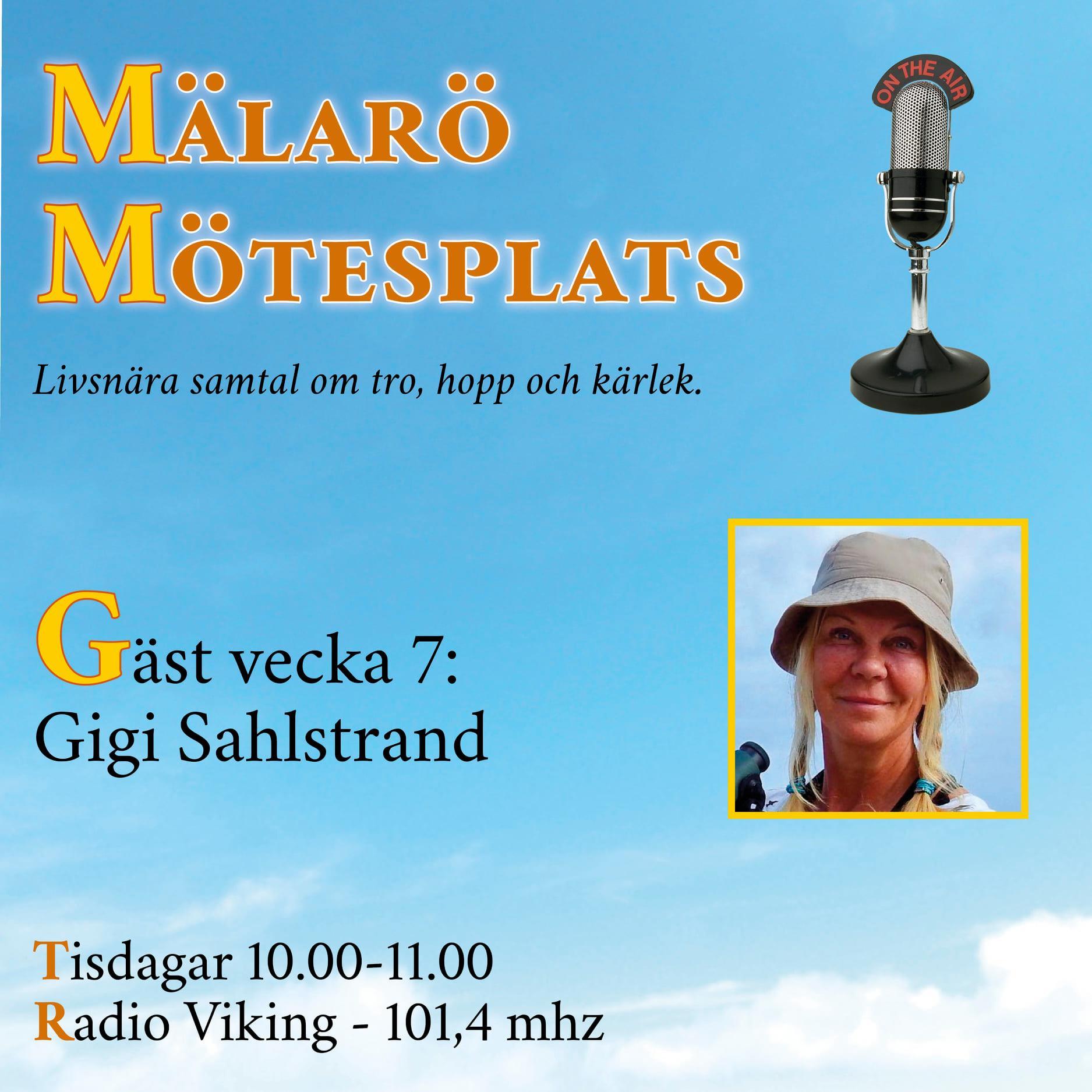 Möte med Gigi Sahlstrand