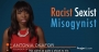 Artwork for Prager U - a young, single, black woman, recently discovered she is a racist, sexist, misogynist