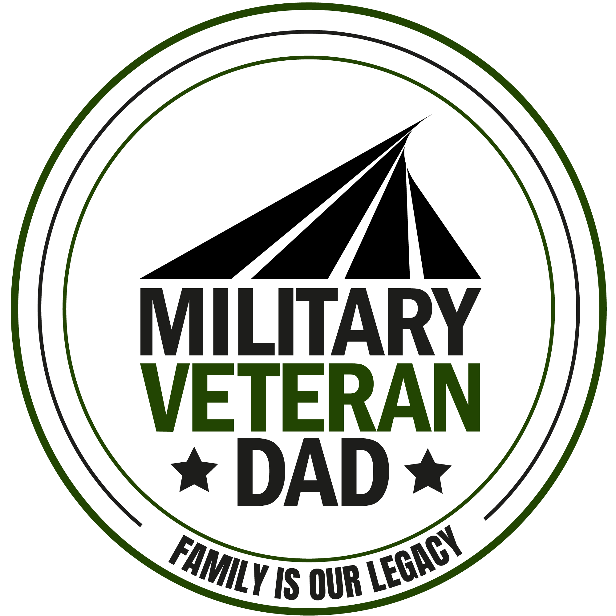 The Military Veteran Dad Podcast show art