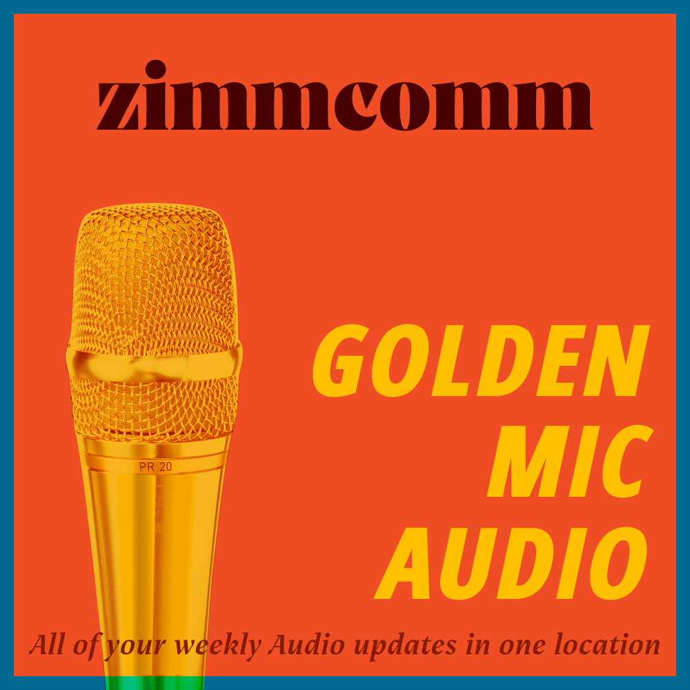 ZimmComm Golden Mic Audio show art
