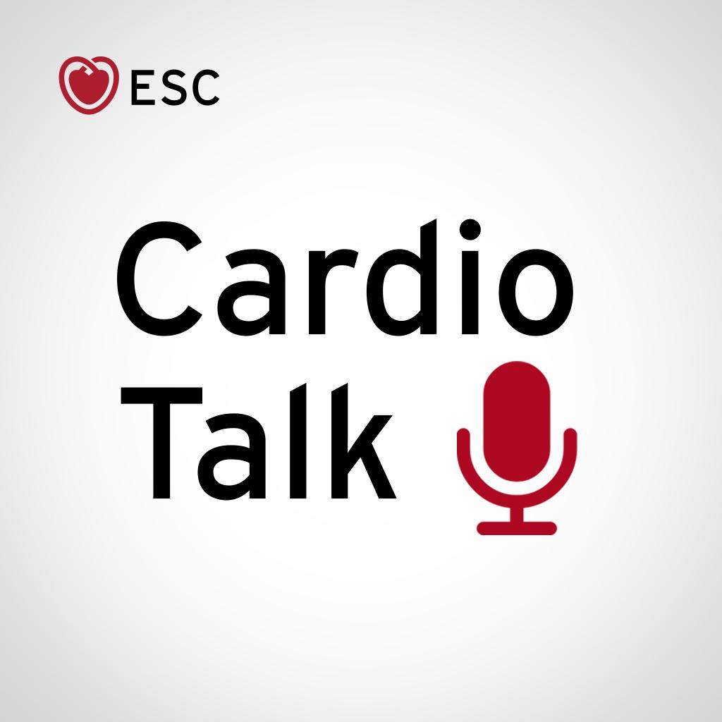 ESC Cardio Talk show art