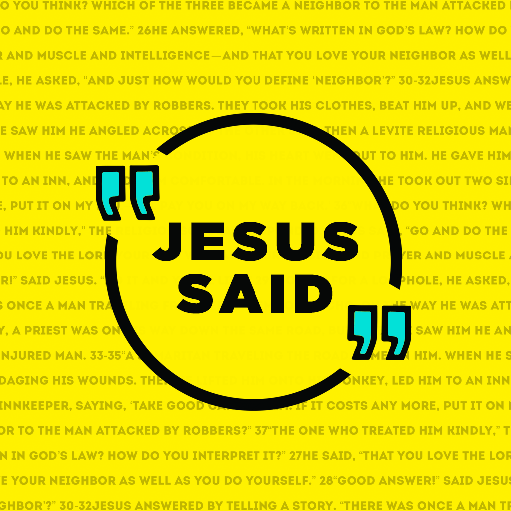 Jesus Said: Part 5 - David Liauw show art