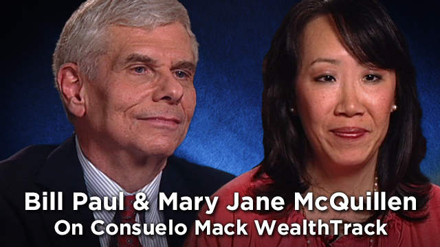 Mary Jane McQuillen & Bill Paul