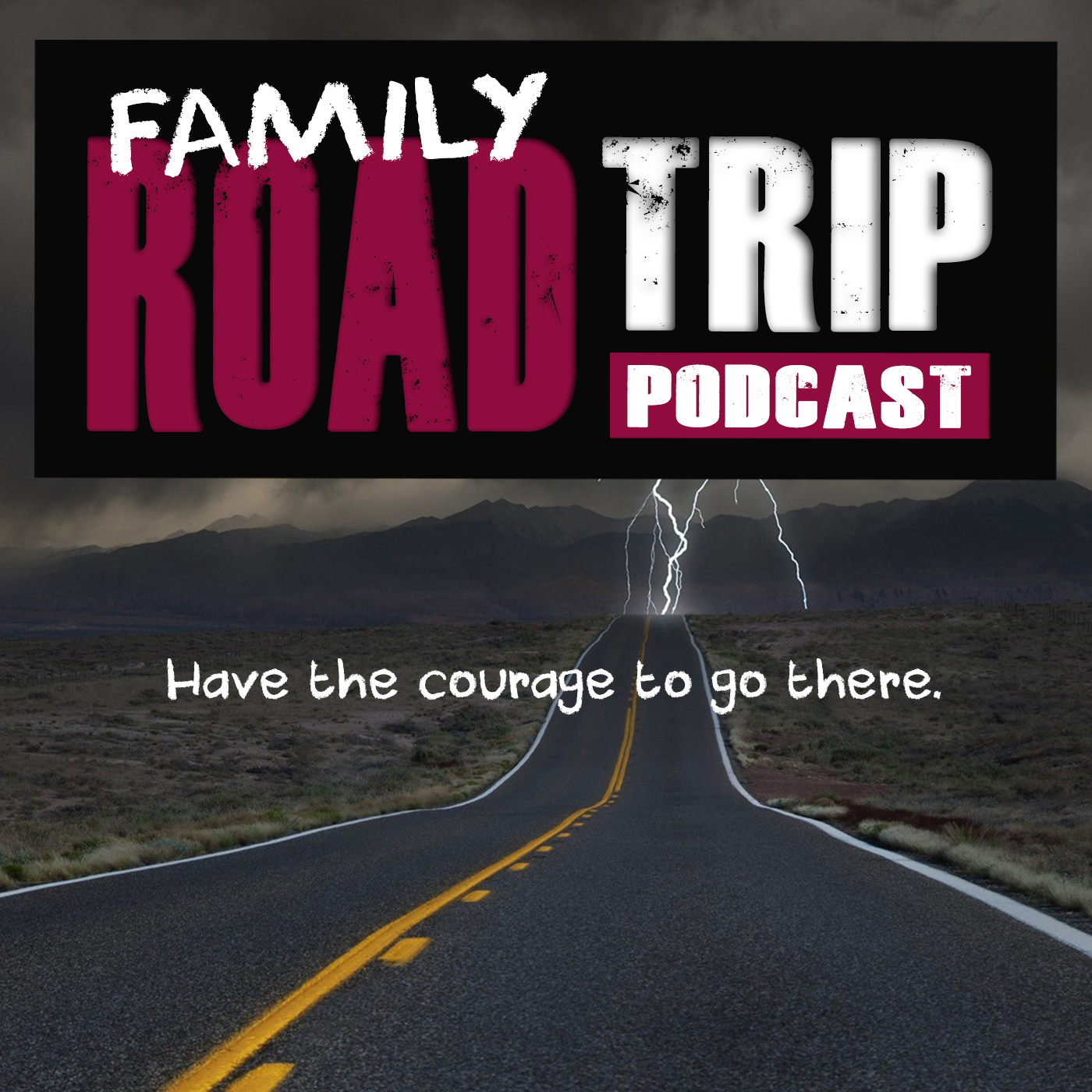 FAMILY ROAD TRIP PODCAST show art
