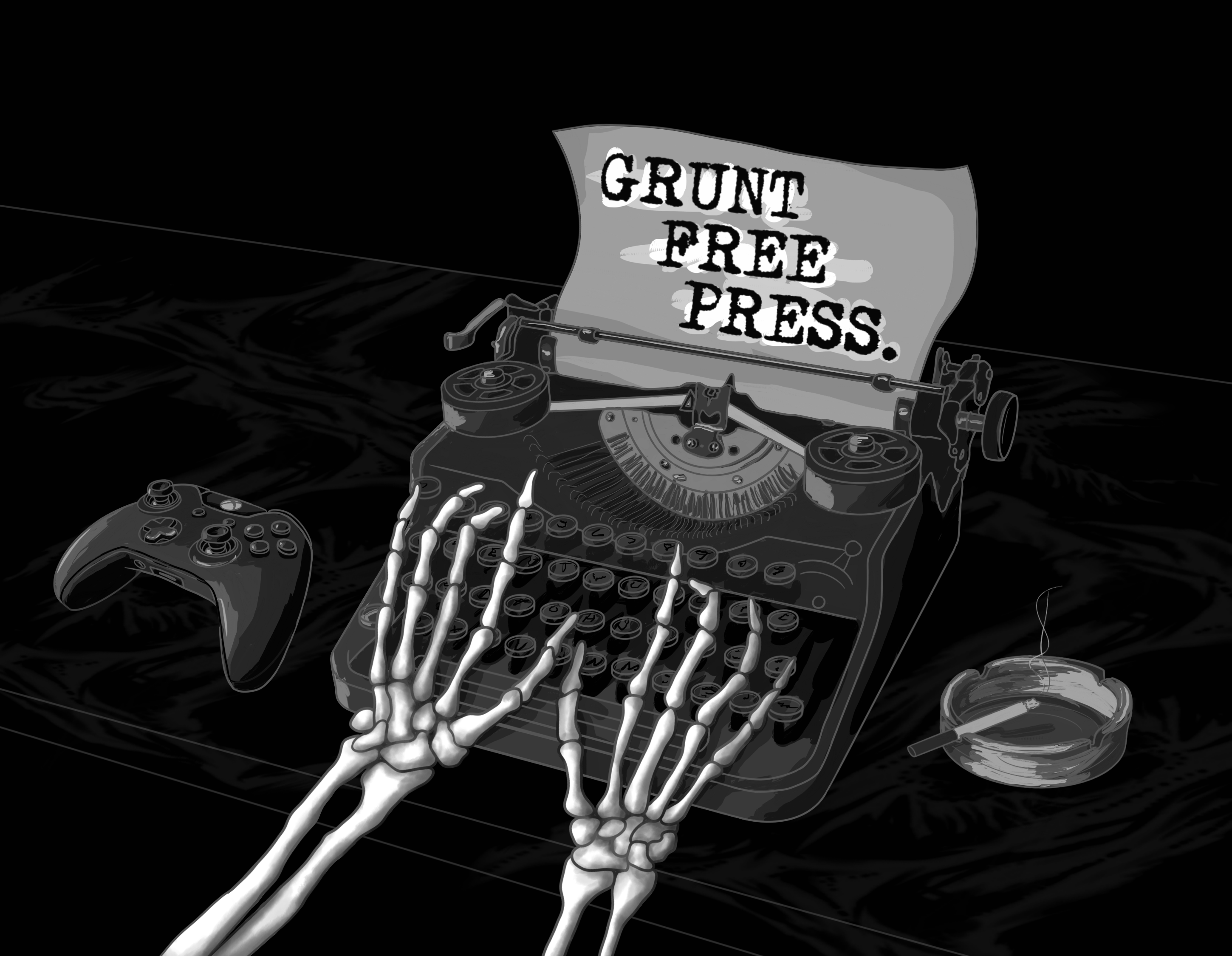 Grunt Free Press Podcast show art