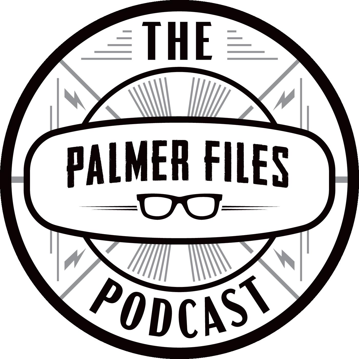 The Palmer Files Podcast show art