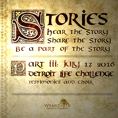 "Stories Part 3: ""Detroit Life Challenge"""