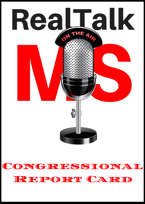RealTalk MS Congressional Report Card