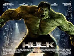 The Marvel Vs DC movie mash-up- 'The Incredible Hulk'