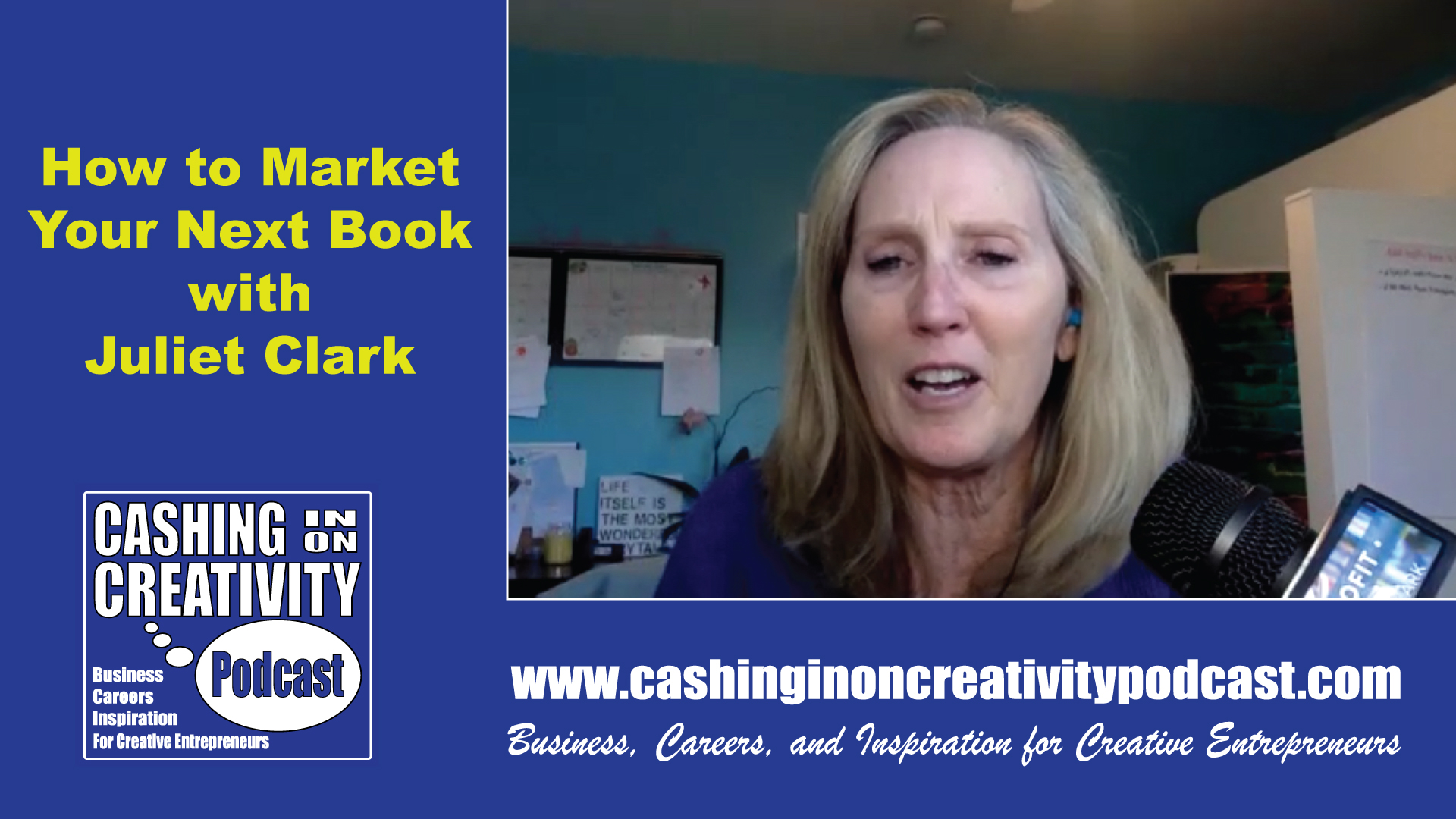 Juliet Clark-Book Marketing
