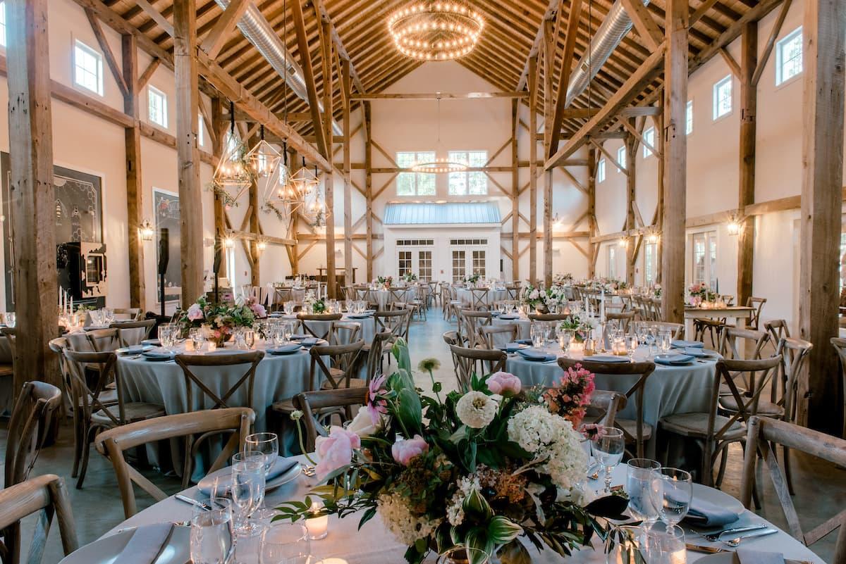 Inside the Barn of Chapel Hill
