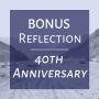 Artwork for BONUS 40th Anniversary: Hope- Anchor of the Soul [Reflection]
