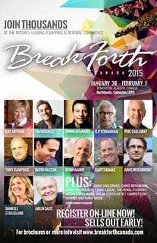 Break Forth Canada 2015 Bulletin Insert