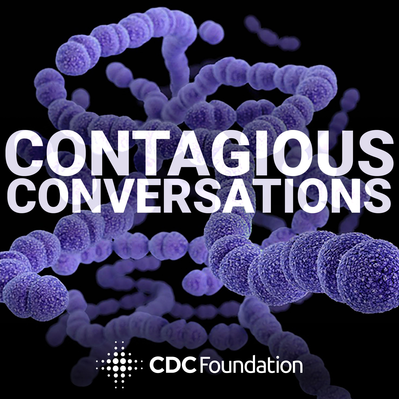 Contagious Conversations show art