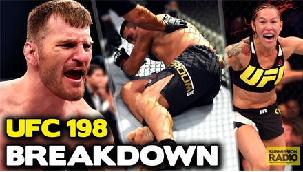 Submission Radio #91 TJ Dillashaw, Stephen Thompson, Ricardo Lamas + UFC 198