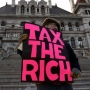 Artwork for 1/3 of society struggling: How much should we tax the rich?