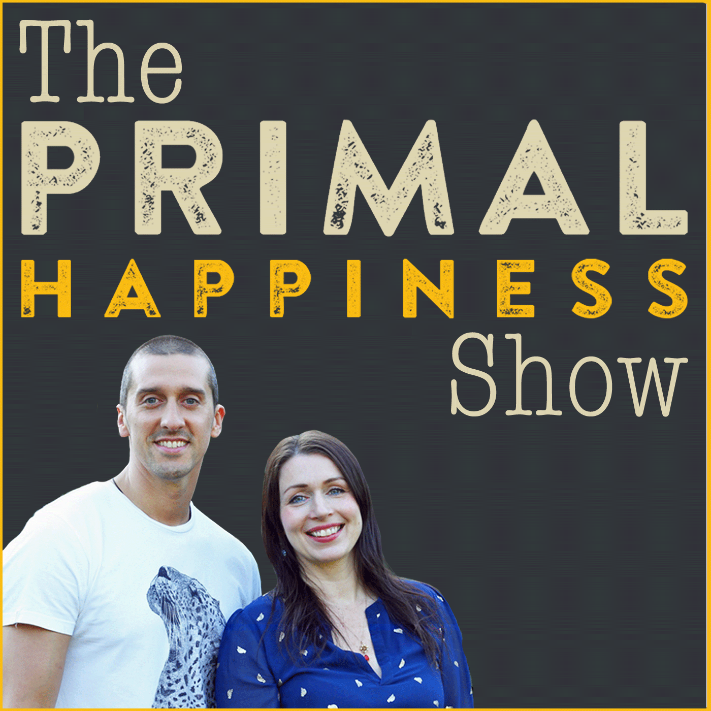 The Primal Happiness Show show art