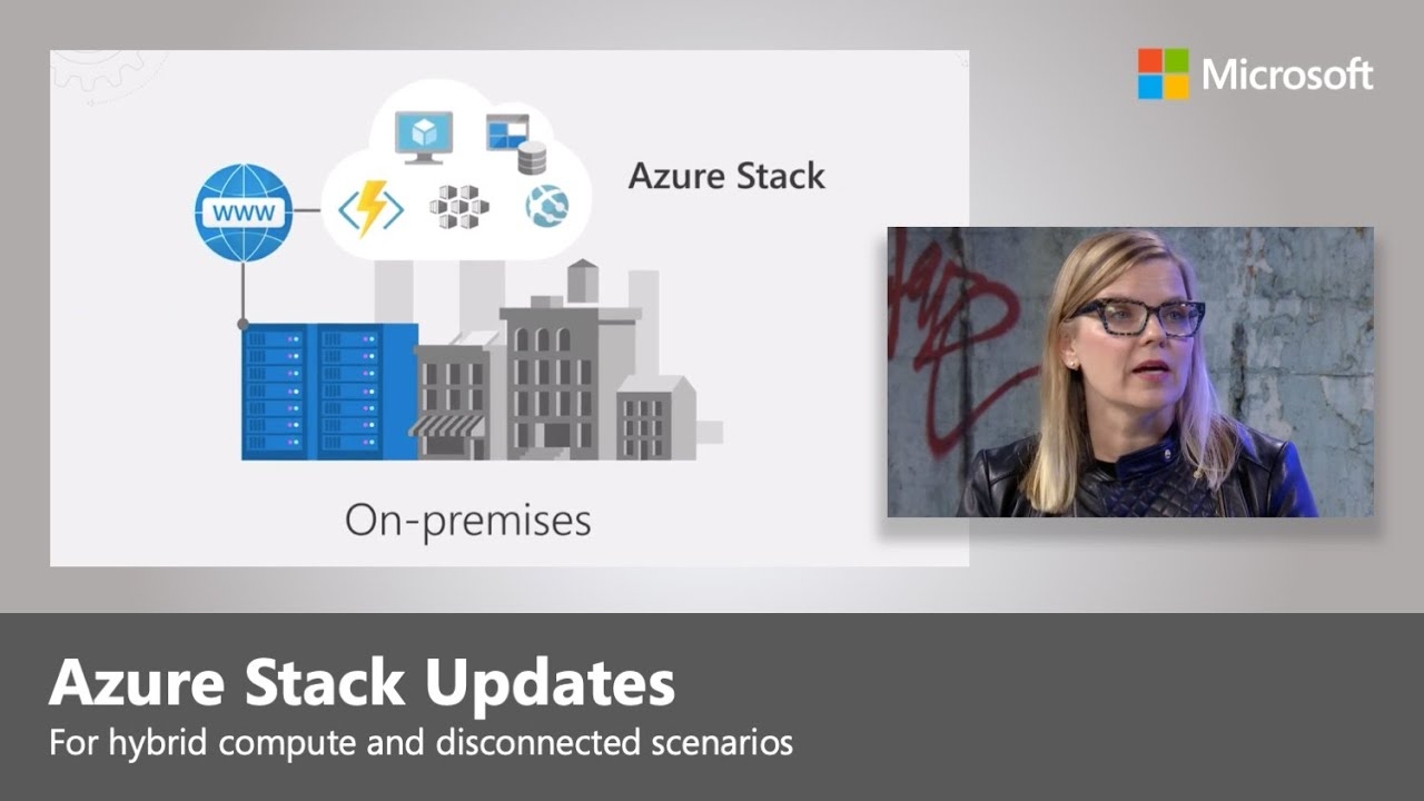 Artwork for Azure Stack for hybrid compute and disconnected scenarios