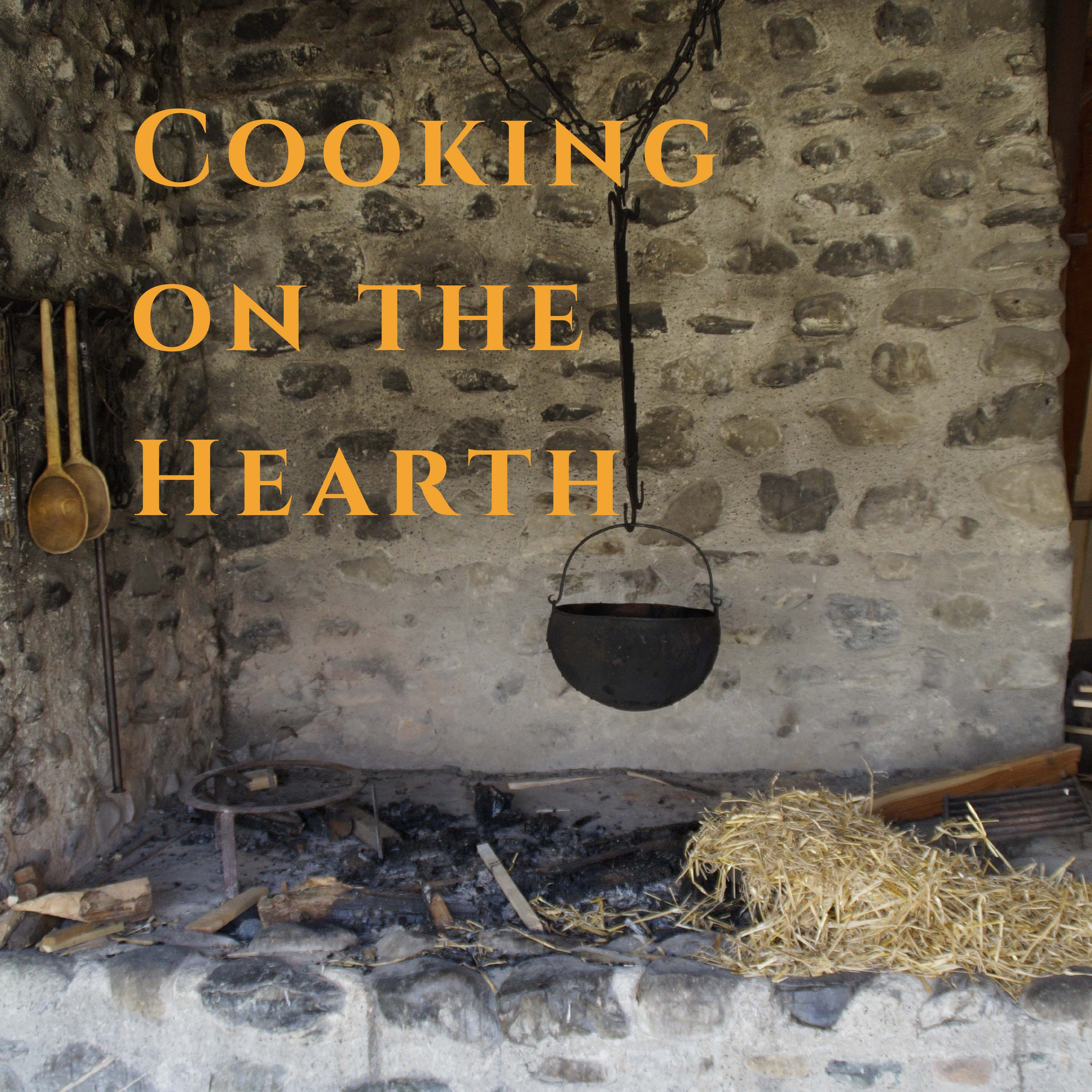 cooking on the hearth