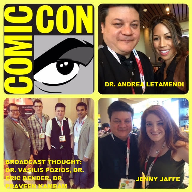 Episode 623 - SDCC: CNI Analyzes That w/ Broadcast Thought, Dr. Andrea Letamendi & Jenny Jaffe!
