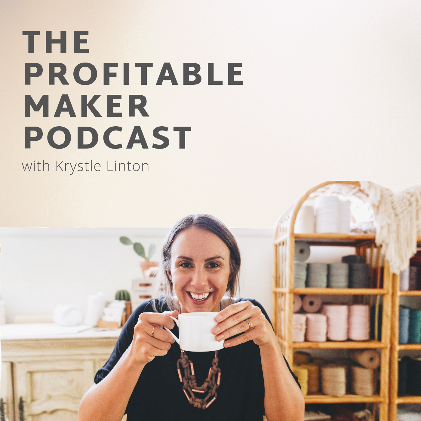The Profitable Maker Podcast show art