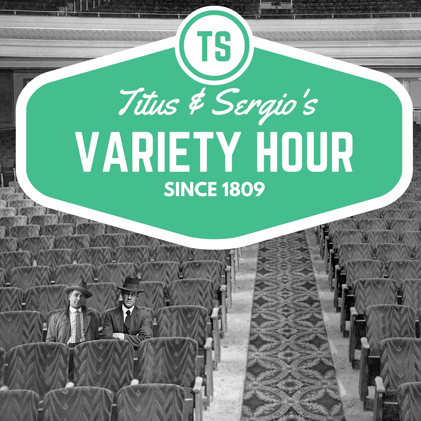 Titus and Sergio's Variety Hour show art