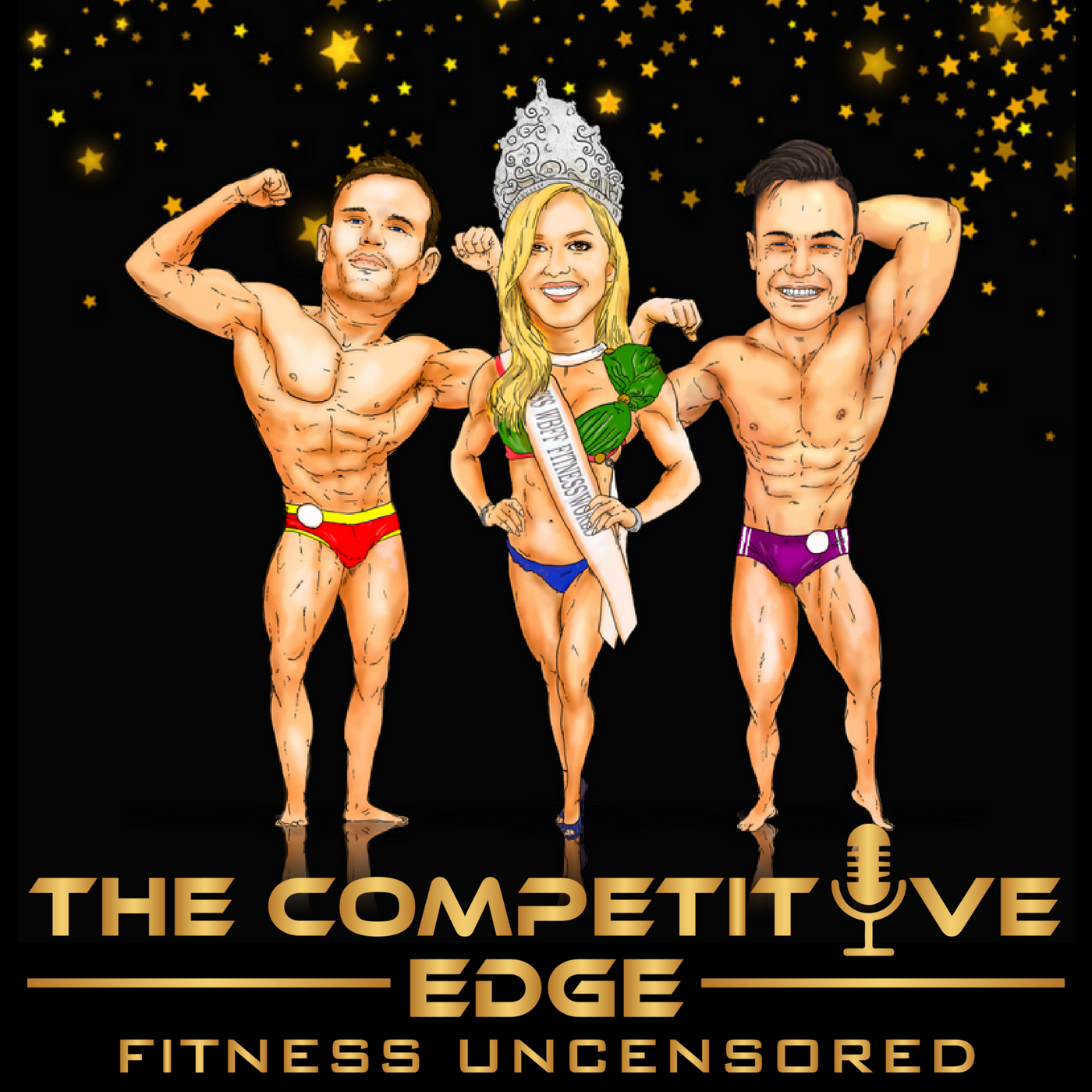 The Competitive Edge - Fitness Uncensored show art