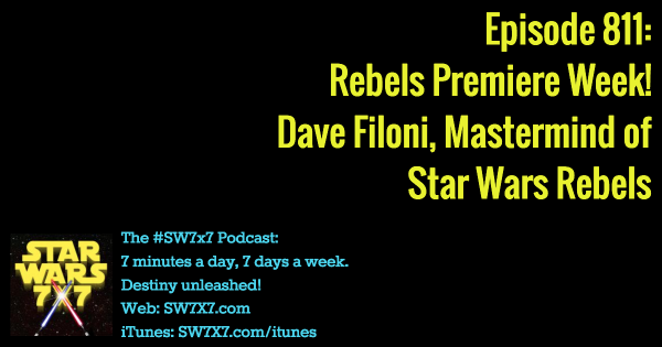 811: Dave Filoni, Star Wars Rebels Mastermind
