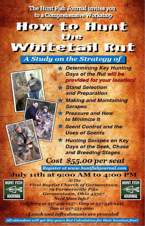 How to Hunt the Whitetail Rut Workshop HFJ 102