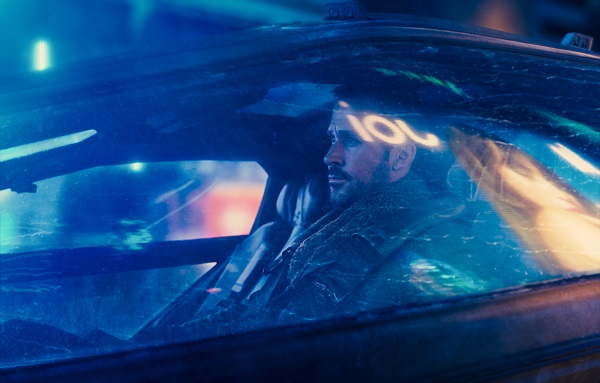 Ryan Gosling as blade runner K
