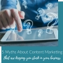Artwork for 5 Myths About Content Marketing That are Keeping You Stuck