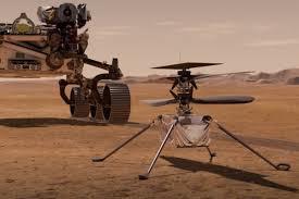 First in Flight on Mars