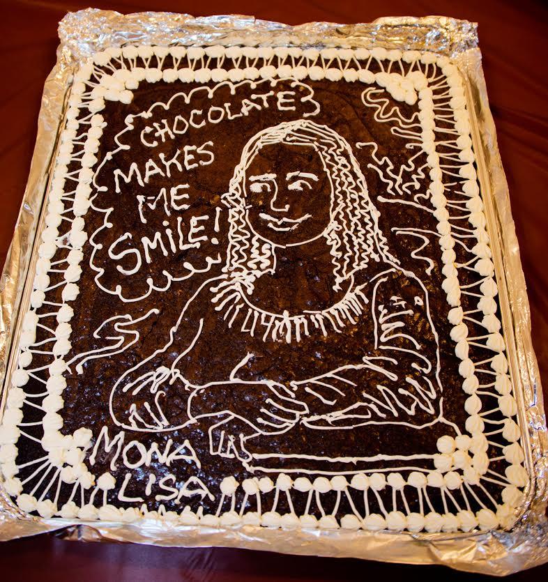 Artwork for TSRP #512: Mona Lisa Cake