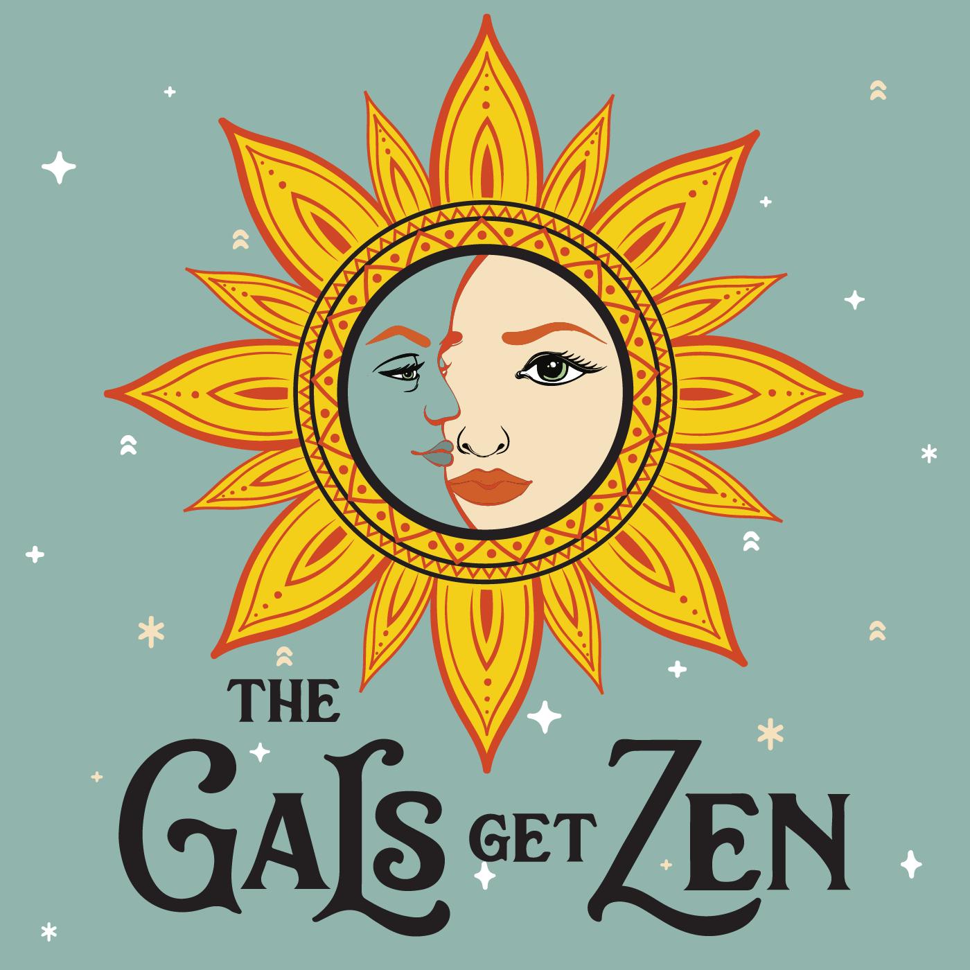 The Gals Get Zen show art
