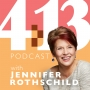 Artwork for #72:  Jennifer Spills the Beans About Writing
